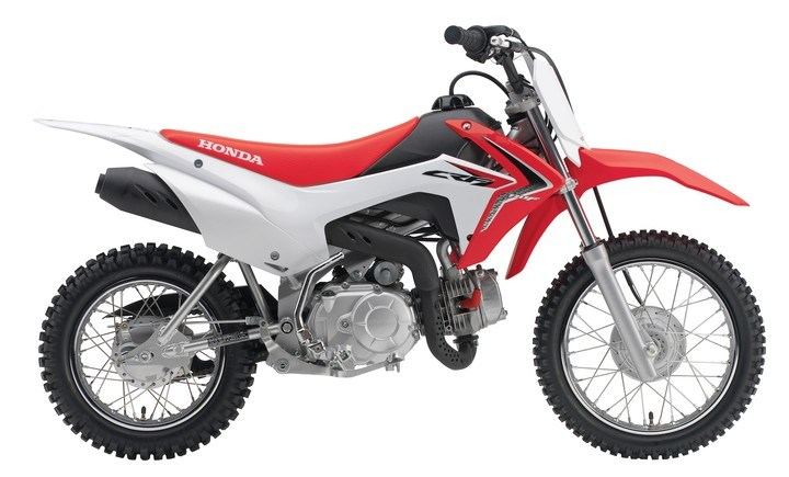 2018 Honda CRF110F in Menominee, Michigan