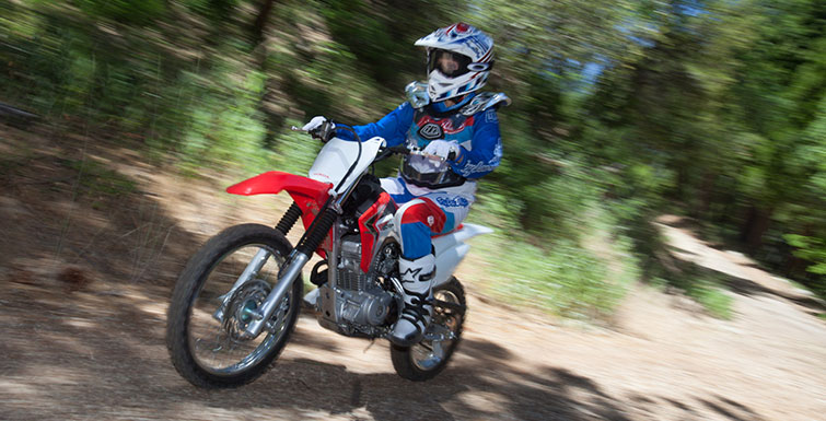 2018 Honda CRF125F in Chickasha, Oklahoma