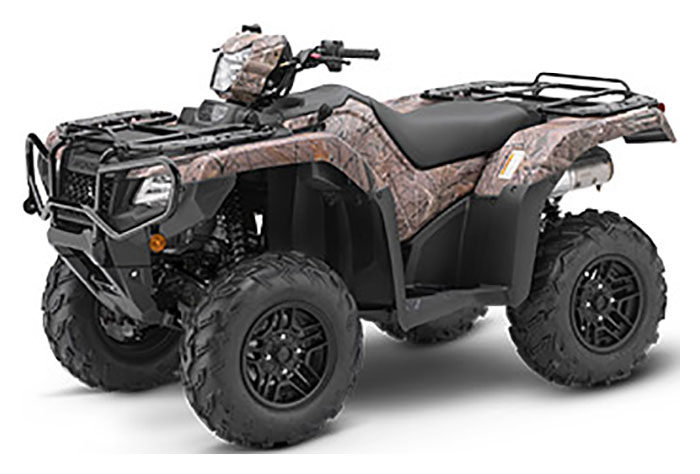 2019 Honda FourTrax Foreman Rubicon 4x4 Automatic DCT EPS Deluxe in Fremont, California
