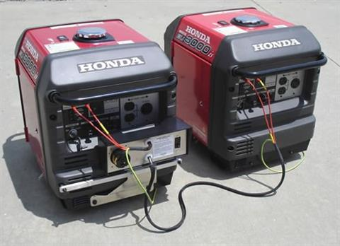 2017 Honda Power Equipment EU3000iS in Merced, California