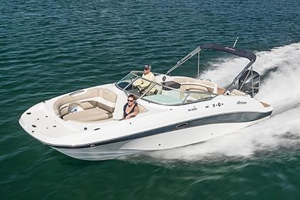 2017 Hurricane SunDeck 2690 OB in Lake City, Florida