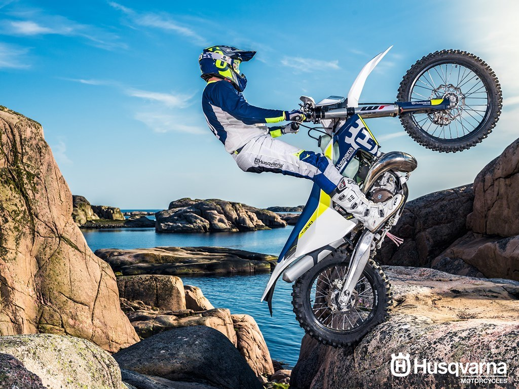 2017 Husqvarna TE 300 in Sacramento, California