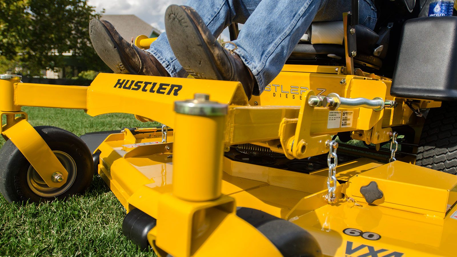 hustler tractor attachments