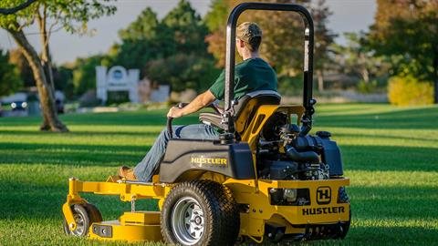 2017 Hustler Turf Equipment Super Z 60 in. Kohler 824 EFI Rear Discharge in Hillsborough, New Hampshire