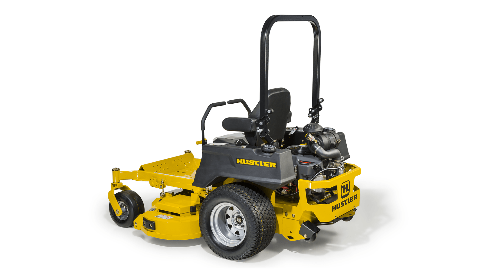 Hustler 802d 6 wheel mower confirm
