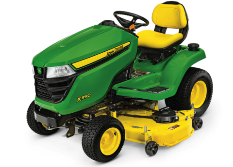 2016 John Deere X390 (54 in.) in Traverse City, Michigan