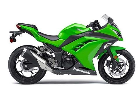 2015 Kawasaki Ninja® 300 in Monroe, Michigan