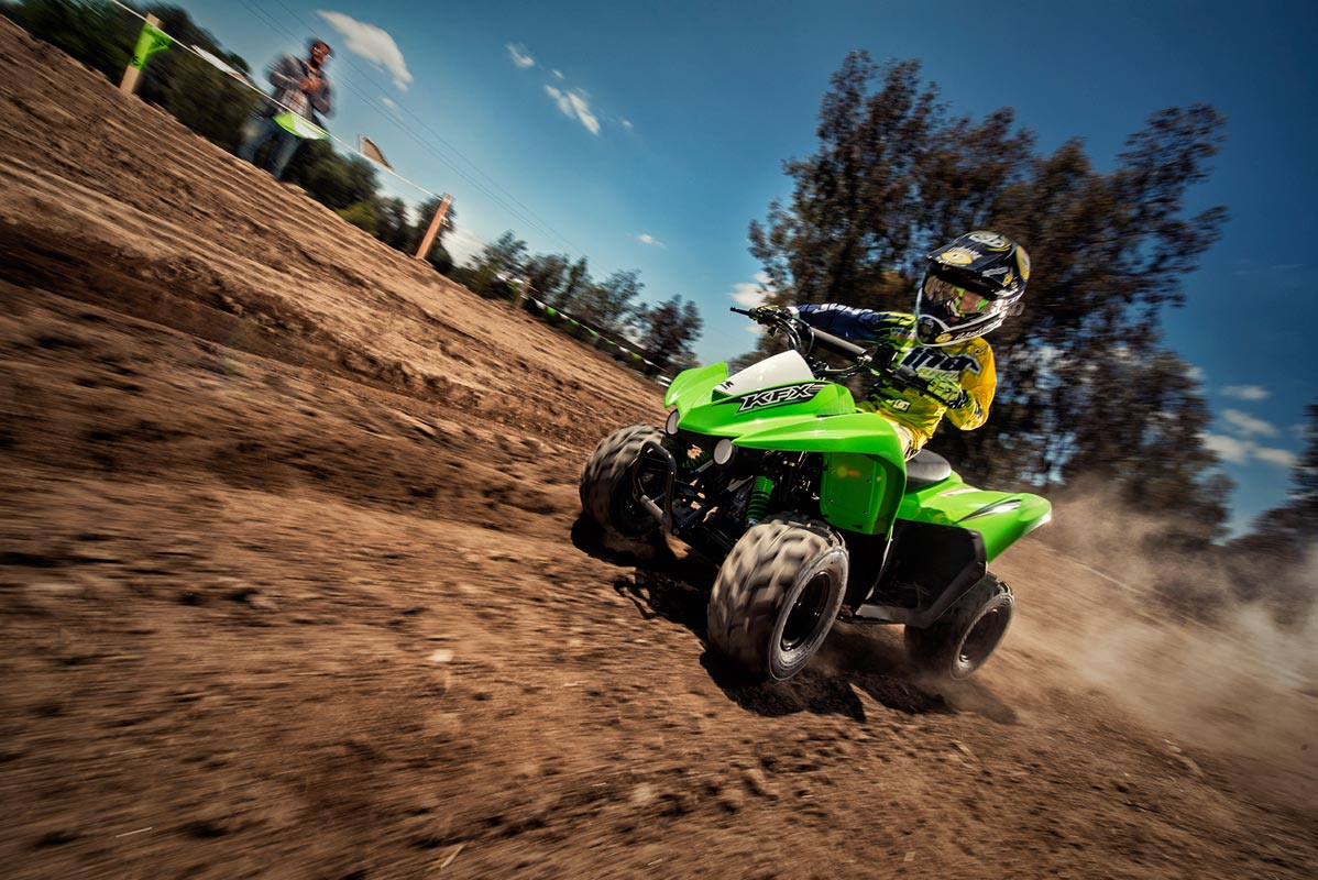2016 Kawasaki KFX50 in Roseville, California