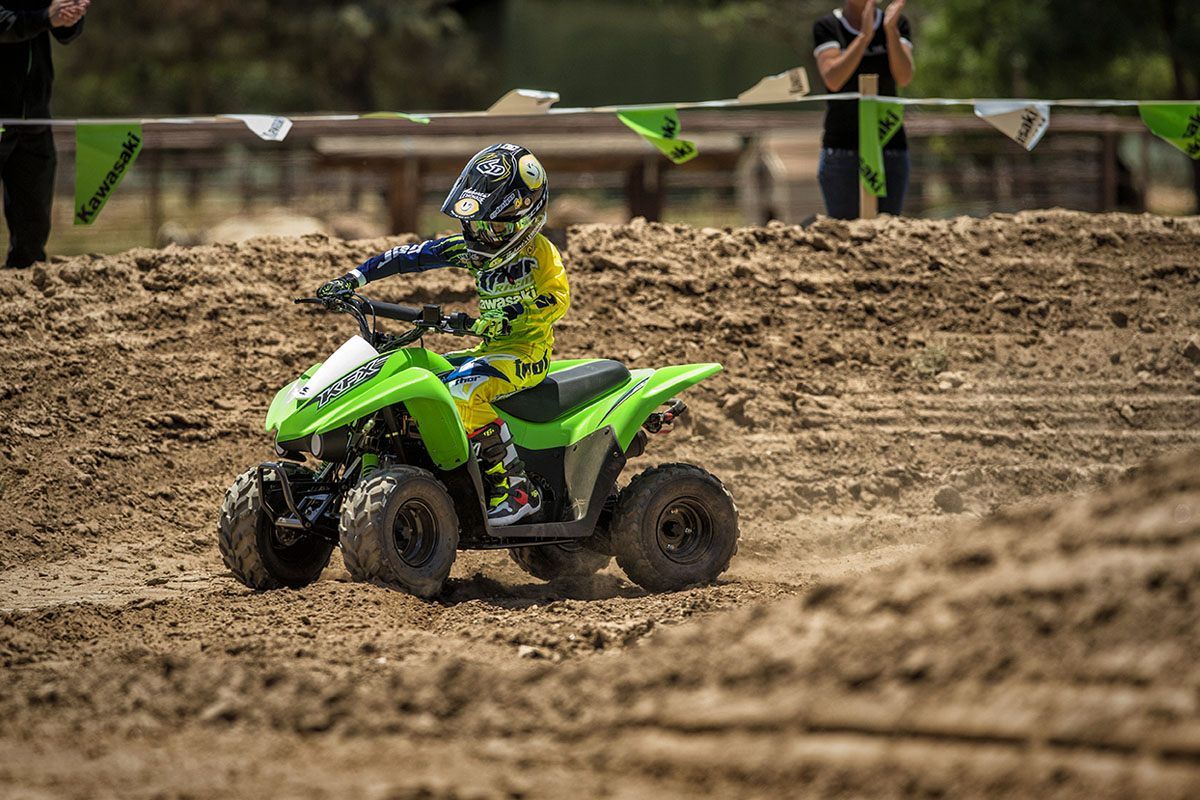 2016 Kawasaki KFX50 in New Castle, Pennsylvania