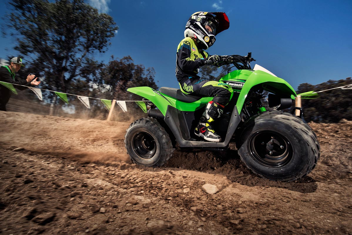 2016 Kawasaki KFX90 in Gonzales, Louisiana