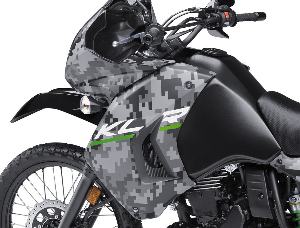 2016 Kawasaki KLR 650 Camo in Fort Pierce, Florida