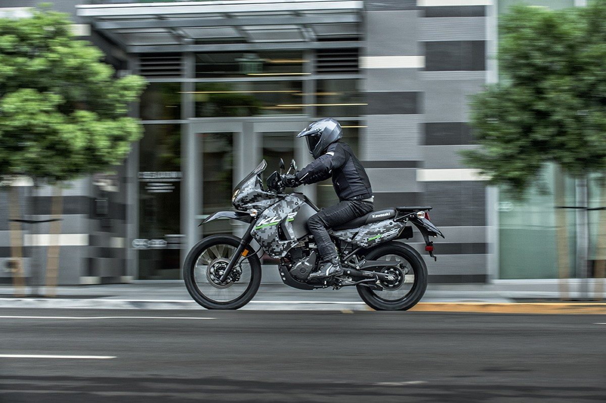 2016 Kawasaki KLR 650 Camo in Bremerton, Washington