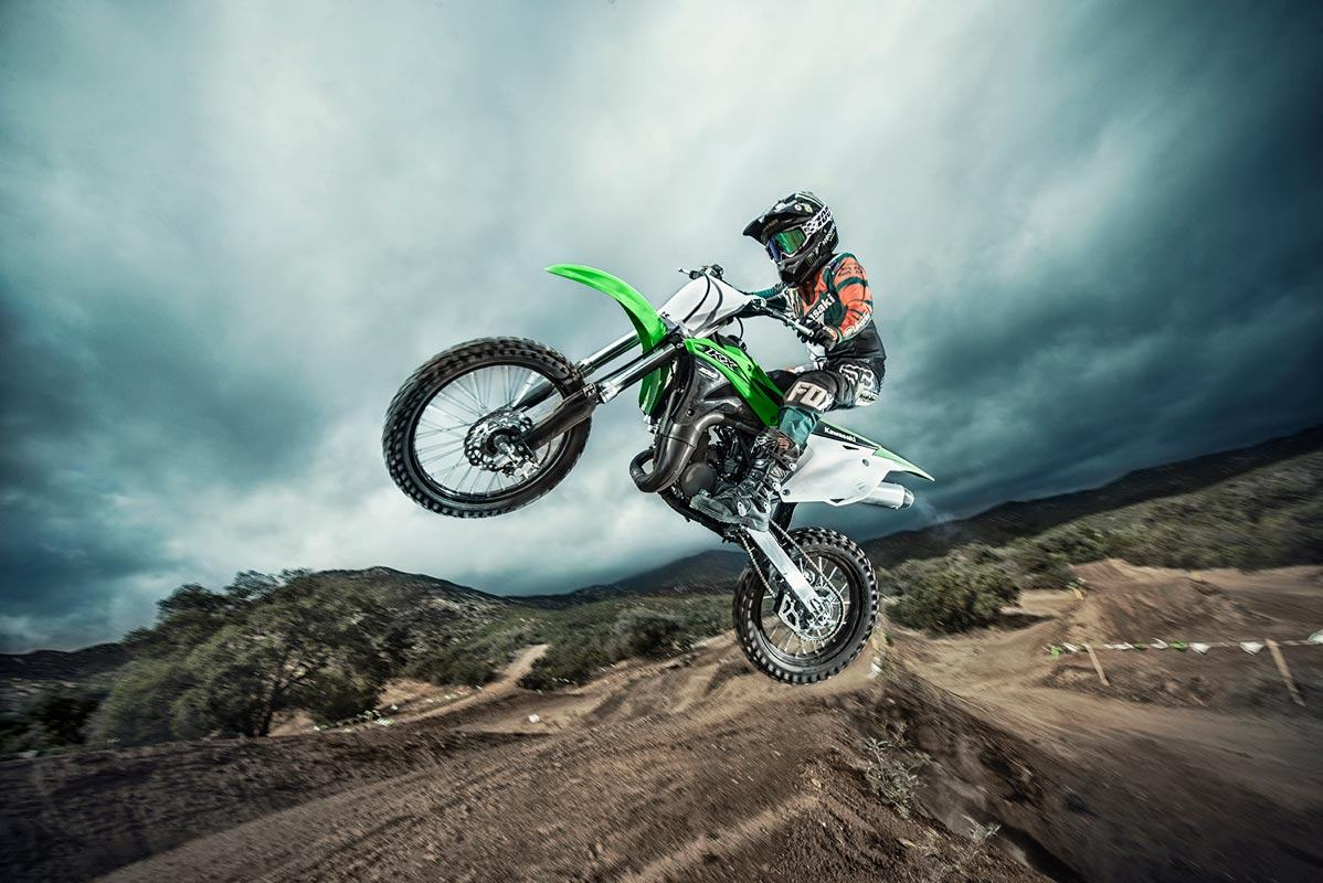 2016 Kawasaki KX100 in New Castle, Pennsylvania