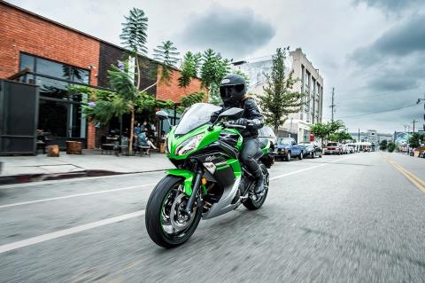 2016 Kawasaki Ninja 650 in Northampton, Massachusetts