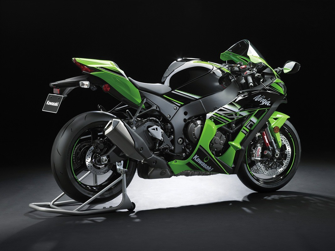 2016 Kawasaki Ninja ZX-10R KRT Edition in Rock Falls, Illinois