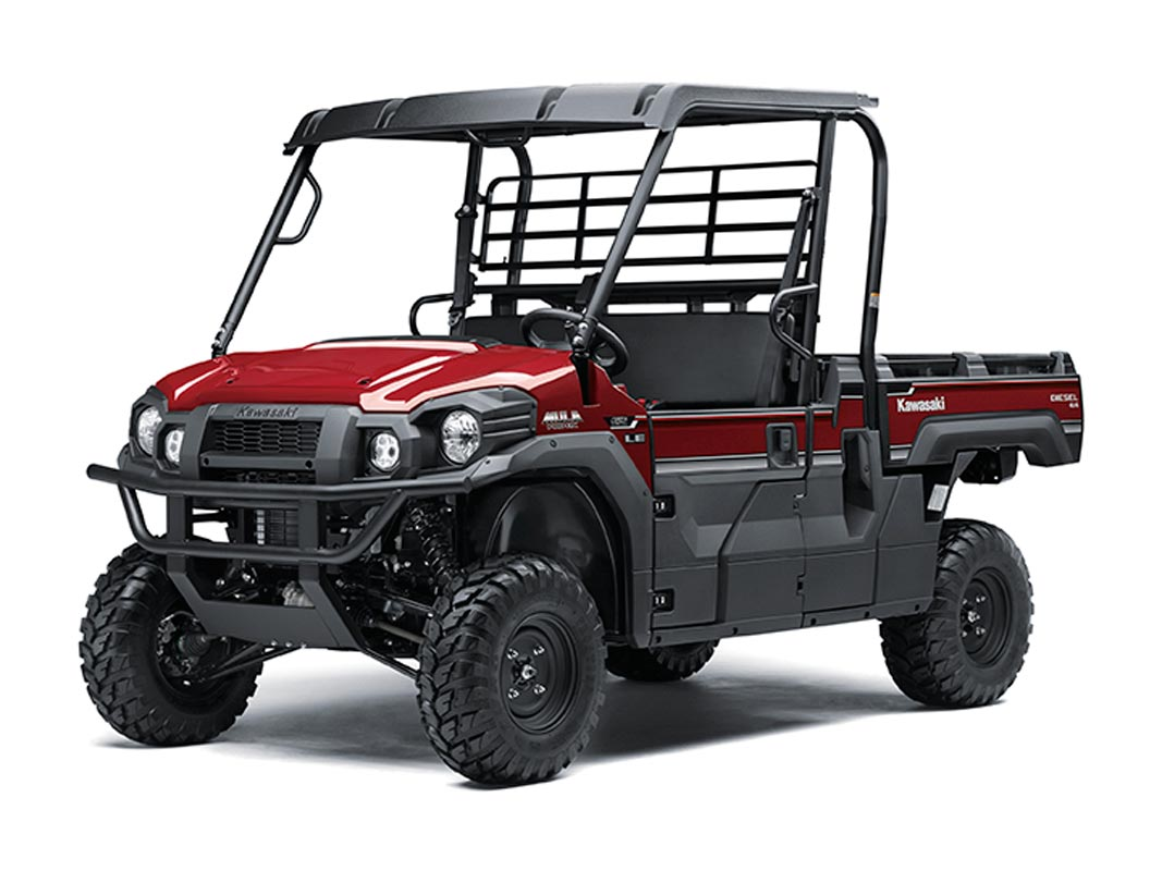 2016 Kawasaki Mule Pro-DX EPS LE Diesel in Romney, West Virginia