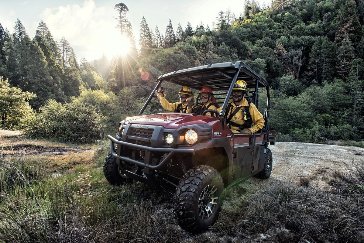 2016 Kawasaki Mule Pro-FXT EPS LE in New Castle, Pennsylvania