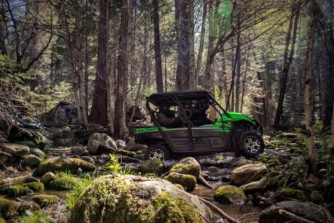 2016 Kawasaki Teryx4 LE in Hickory, North Carolina