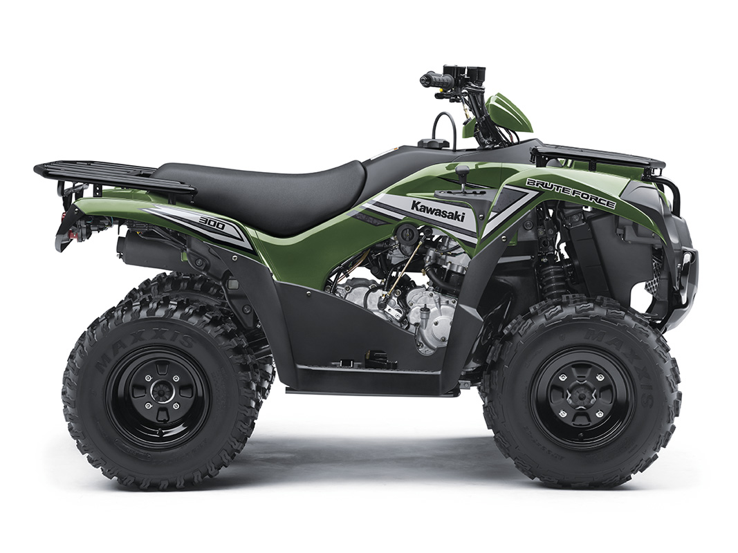 2017 Kawasaki Brute Force 300 in Paw Paw, Michigan