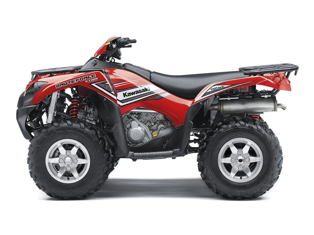 2017 Kawasaki Brute Force 750 4x4i EPS in Pompano Beach, Florida