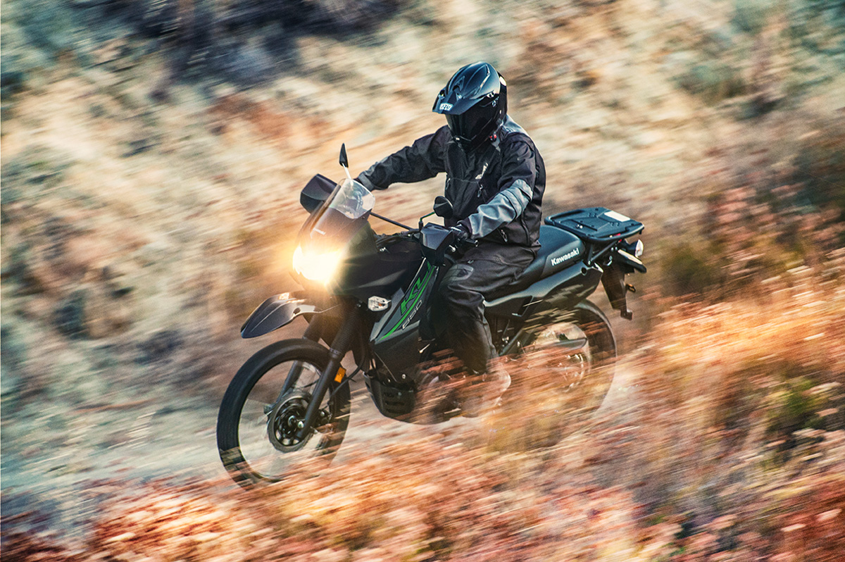 2017 Kawasaki KLR650 in Fairfield, Illinois