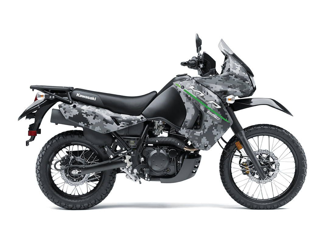 2017 Kawasaki KLR650 in Mount Pleasant, Michigan