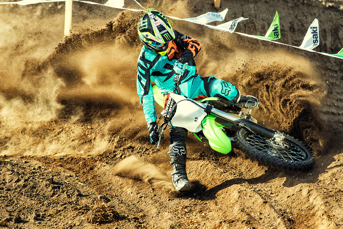 2017 Kawasaki KX250F in Huntington, West Virginia