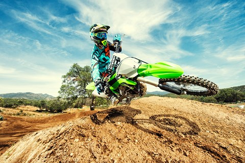 2017 Kawasaki KX250F in South Paris, Maine