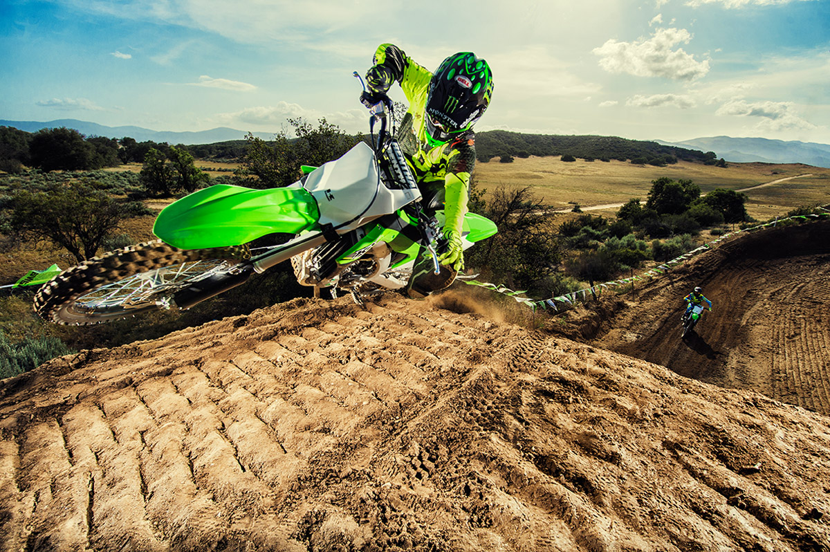 2017 Kawasaki KX450F in De Forest, Wisconsin