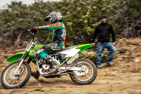2017 Kawasaki KLX140 in Merced, California