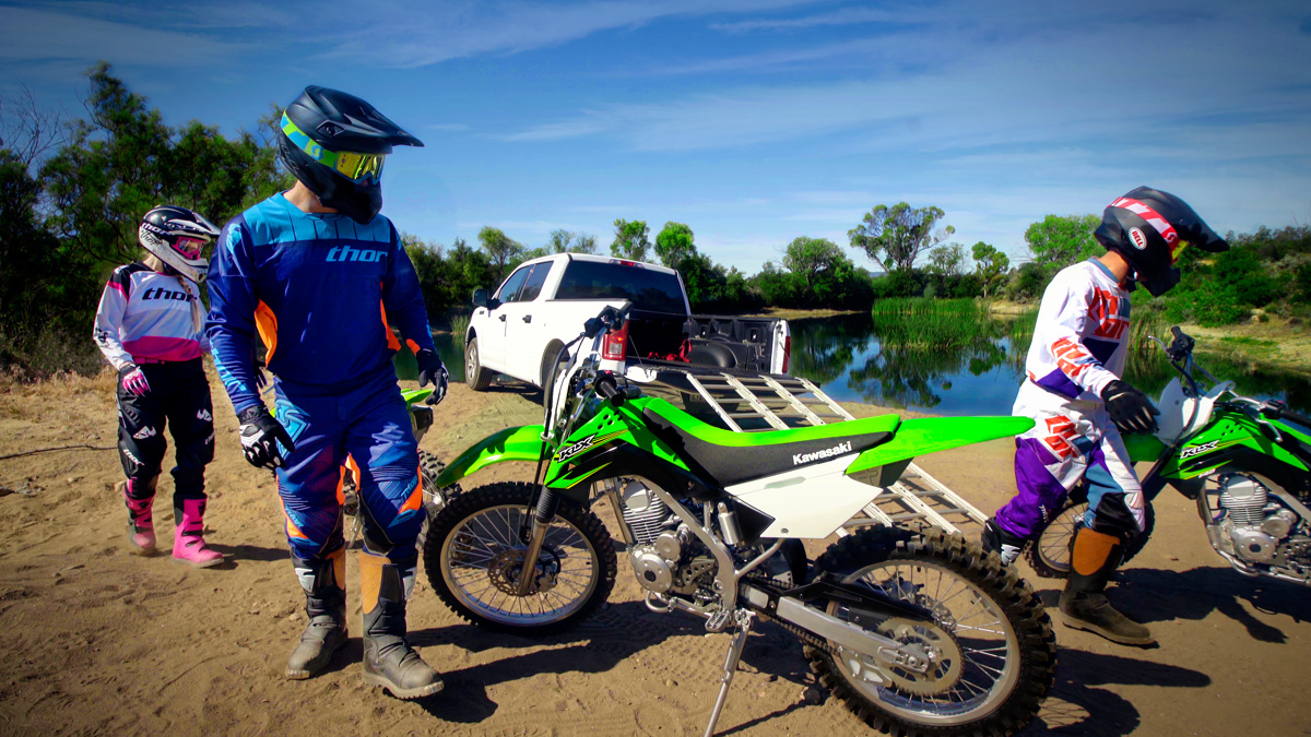 2017 Kawasaki KLX140G in Roseville, California