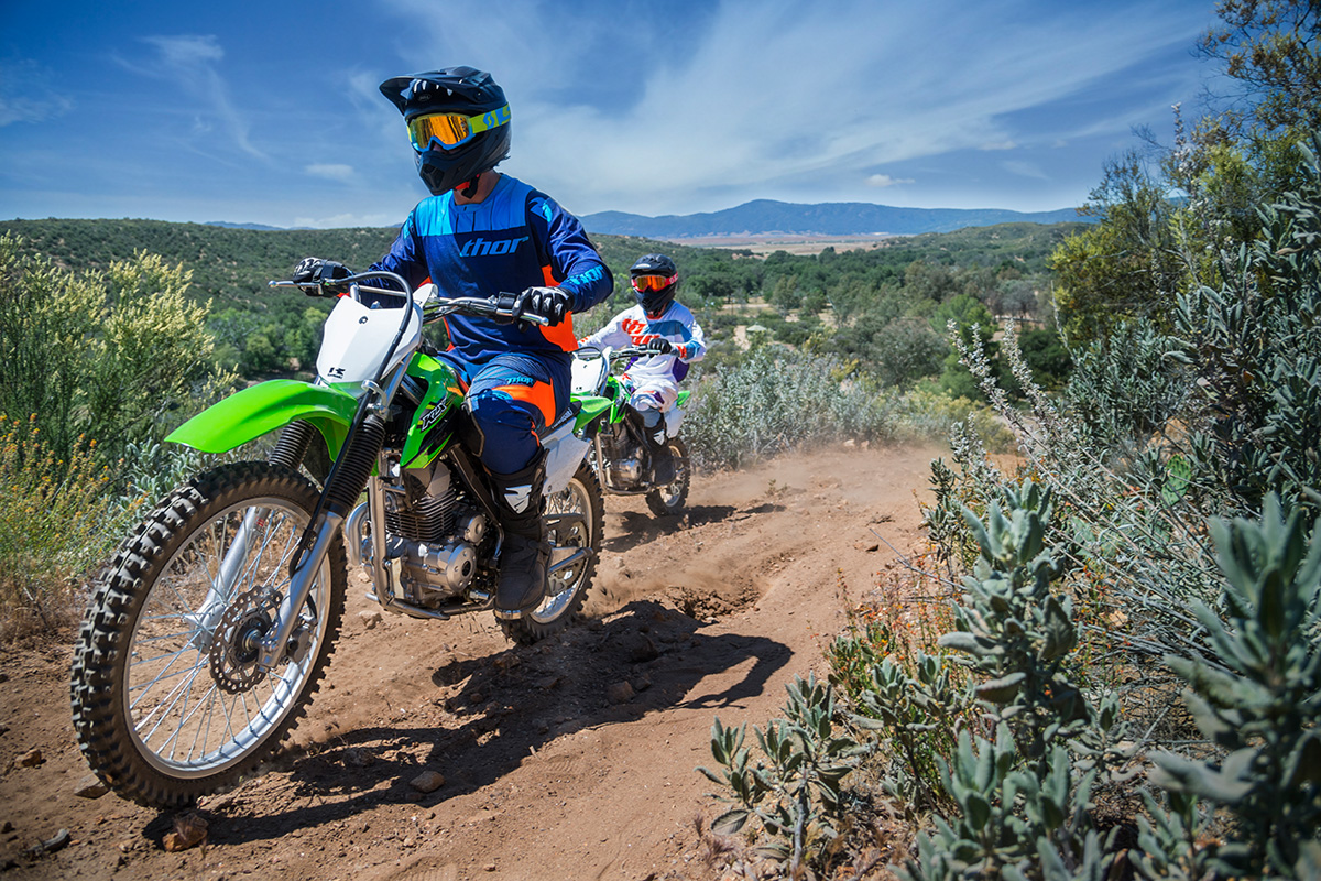 2017 Kawasaki KLX140G in Santa Fe, New Mexico