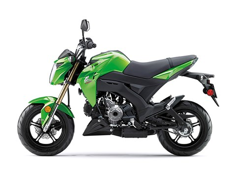 2017 Kawasaki Z125 Pro in Northampton, Massachusetts