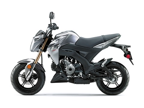 2017 Kawasaki Z125 Pro in Middletown, New Jersey