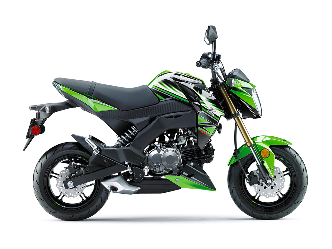 2017 Kawasaki Z125 Pro KRT Edition in Wilkesboro, North Carolina