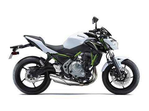 2017 Kawasaki Z650 in Smock, Pennsylvania
