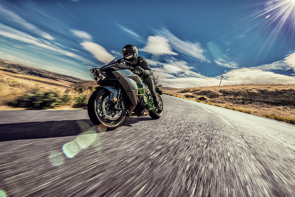 2017 Kawasaki NINJA H2 Carbon in Pendleton, New York