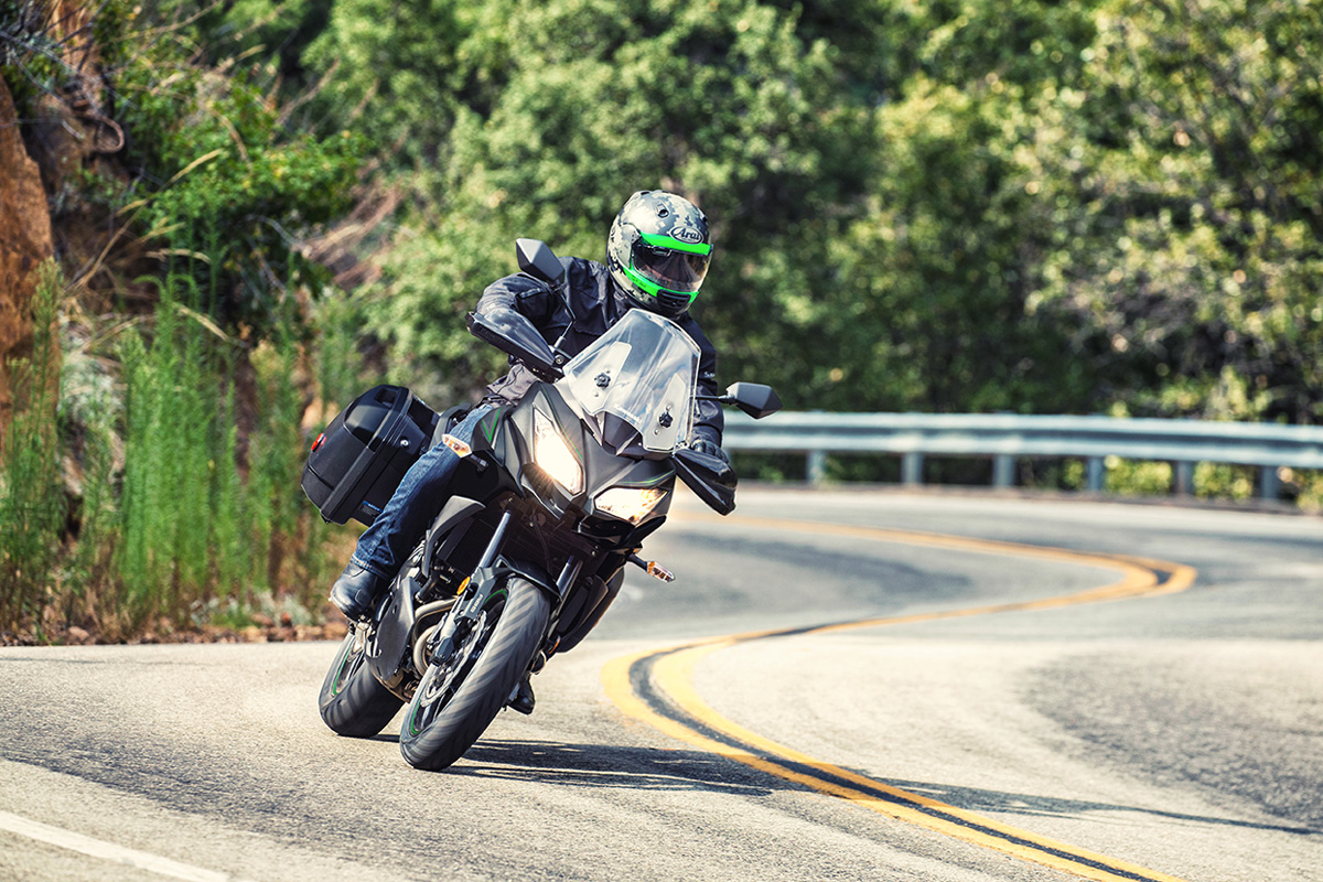 2017 Kawasaki VERSYS 650 LT in New Castle, Pennsylvania
