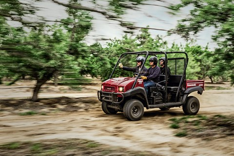 2017 Kawasaki Mule 4010 Trans4x4 in Traverse City, Michigan