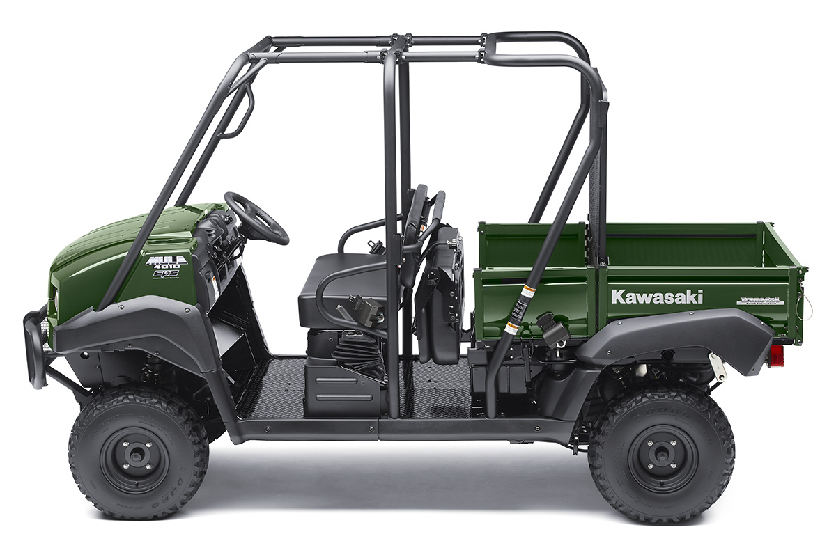 2017 Kawasaki Mule 4010 Trans4x4 in South Hutchinson, Kansas