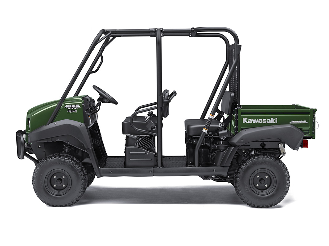 2017 Kawasaki Mule 4010 Trans4x4 in Mount Pleasant, Michigan