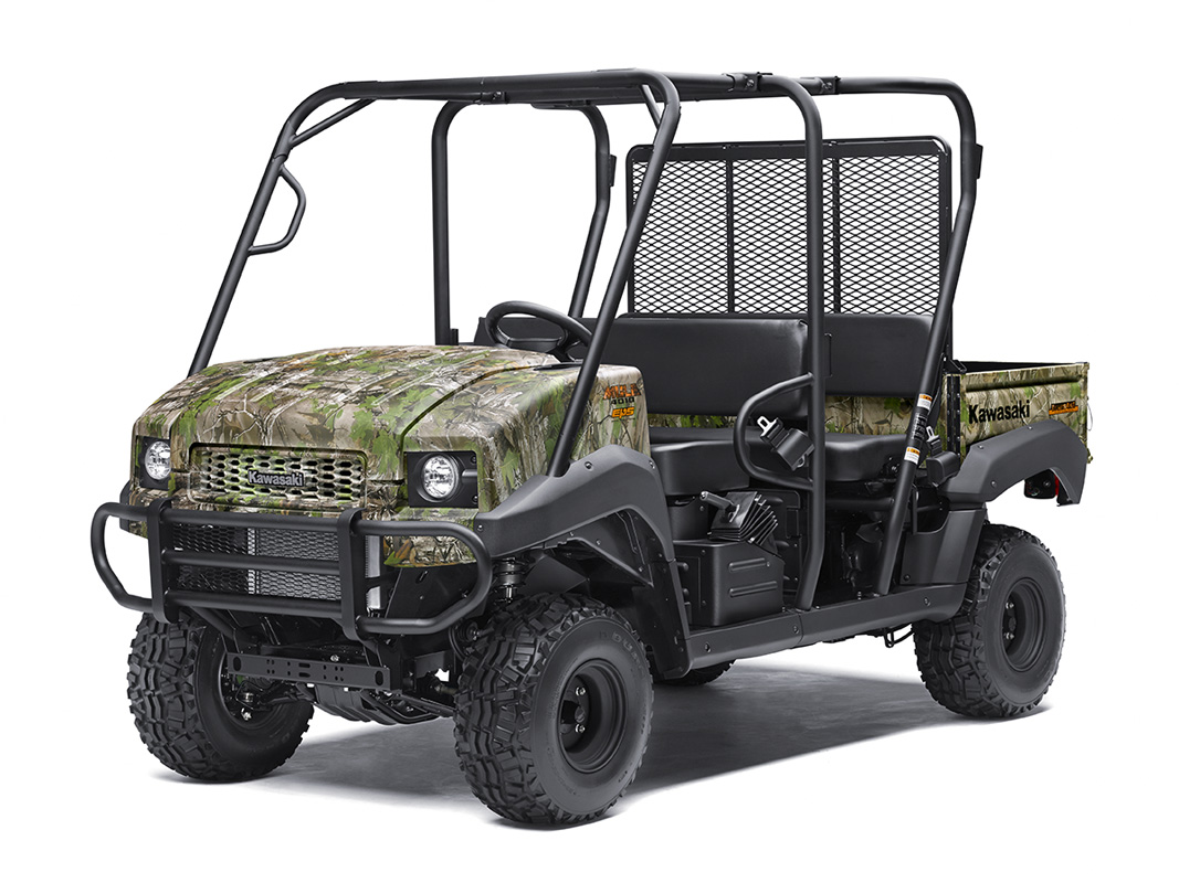 2017 Kawasaki Mule 4010 Trans4x4 Camo in Asheville, North Carolina