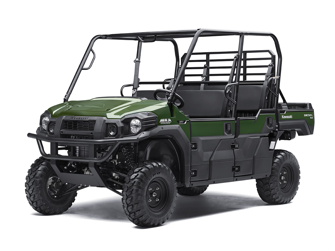 2017 Kawasaki Mule PRO-DXT EPS Diesel in Mount Pleasant, Michigan