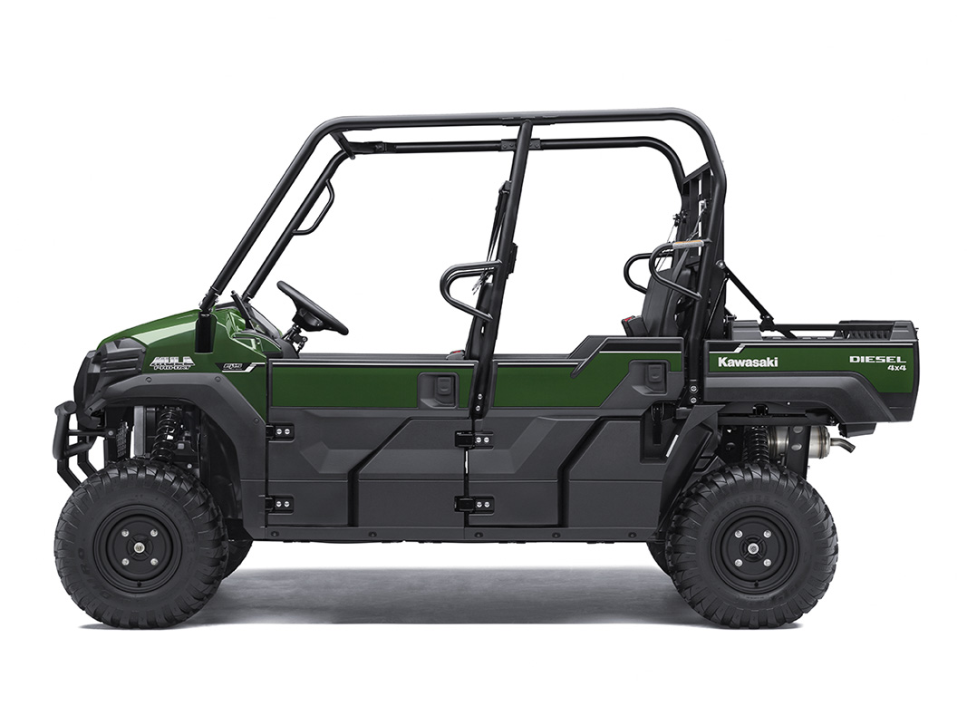 2017 Kawasaki Mule PRO-DXT EPS Diesel in Fairfield, Illinois