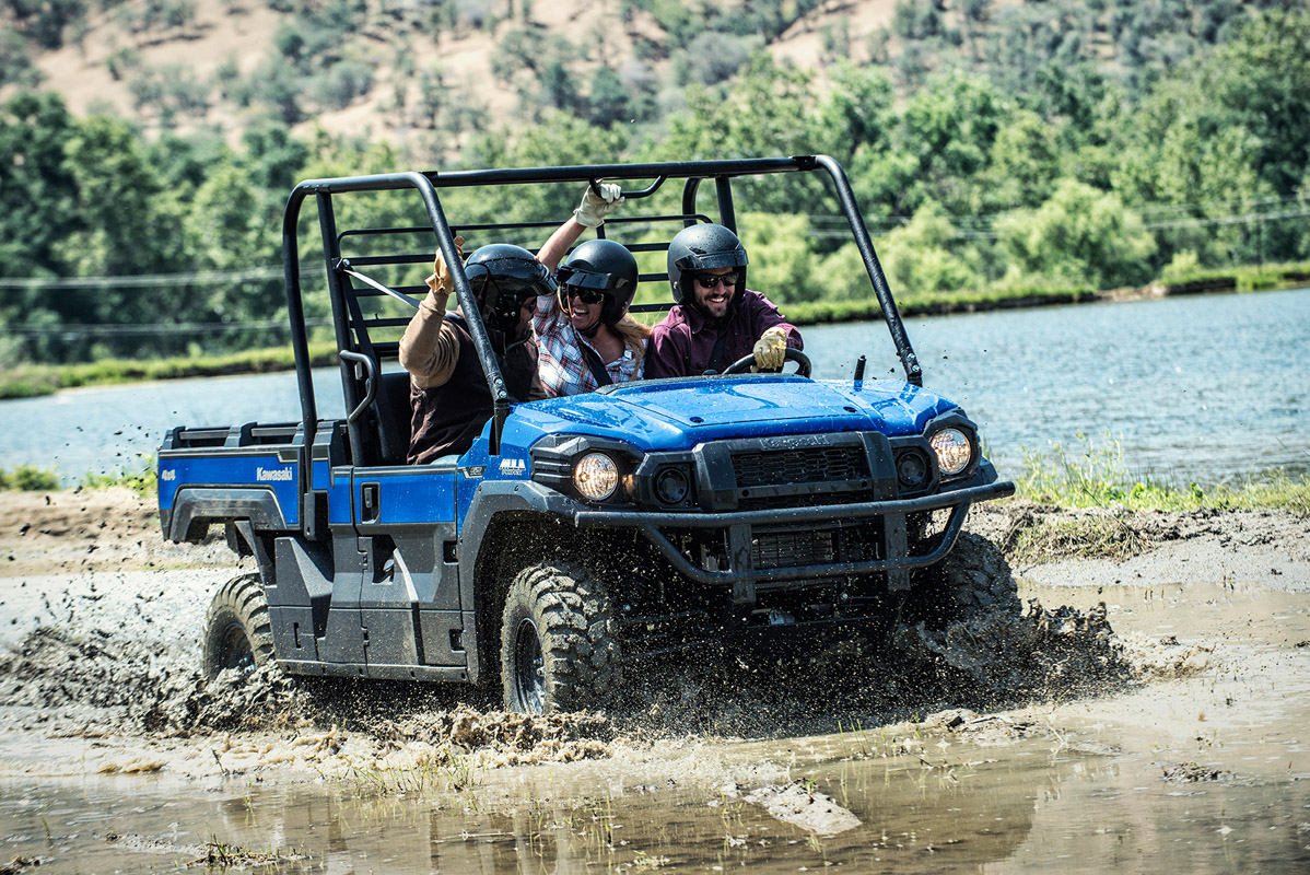 2017 Kawasaki Mule PRO-FX EPS in Paw Paw, Michigan