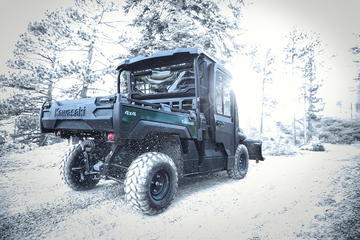 2017 Kawasaki Mule PRO-FX EPS in Fairfield, Illinois
