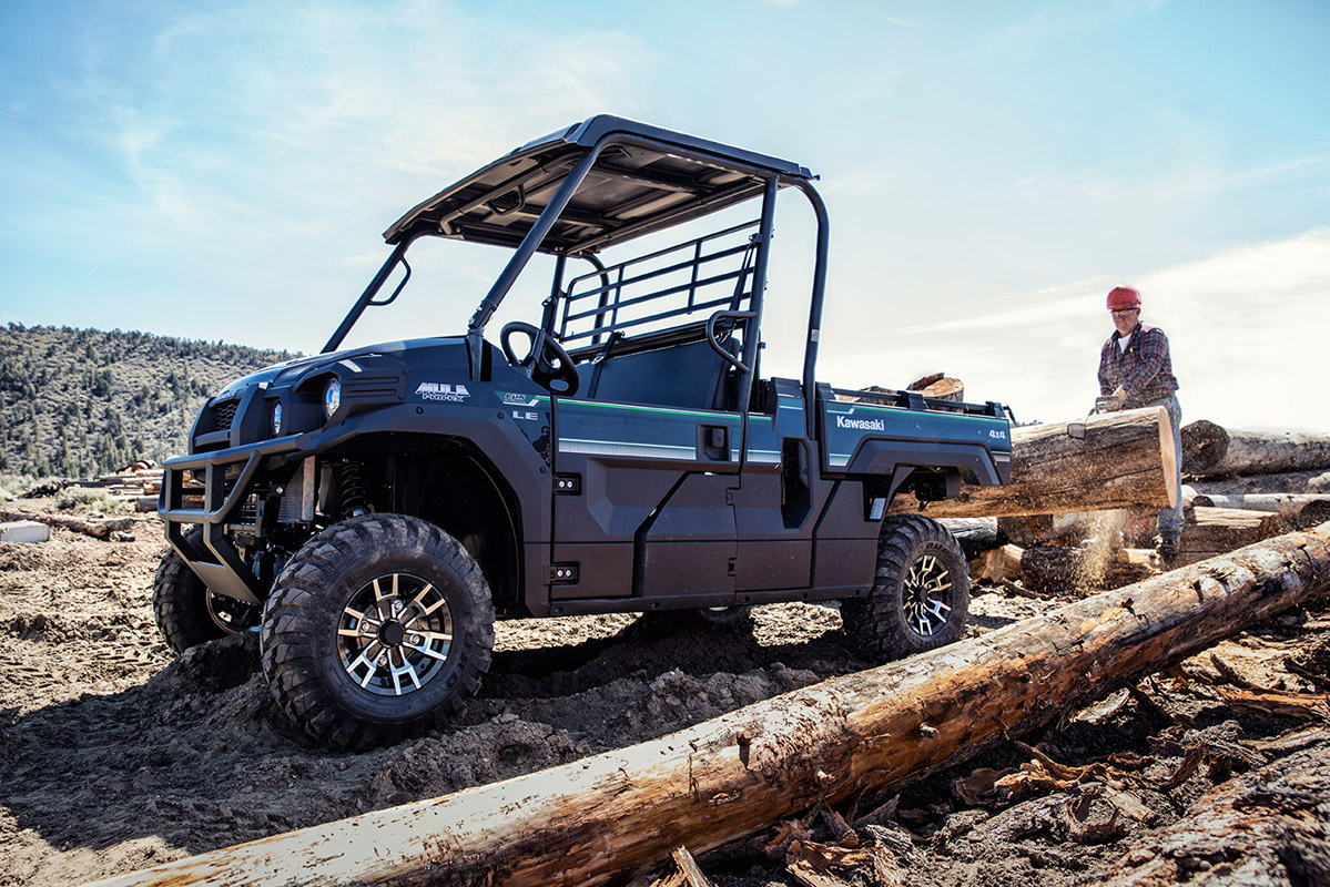 2017 Kawasaki Mule PRO-FX EPS LE in Norfolk, Virginia