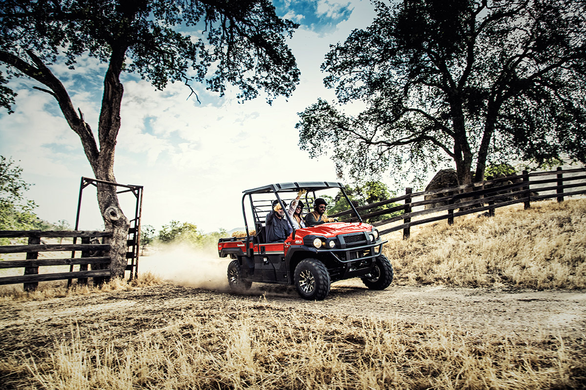 2017 Kawasaki Mule PRO-FX EPS LE in Fairfield, Illinois