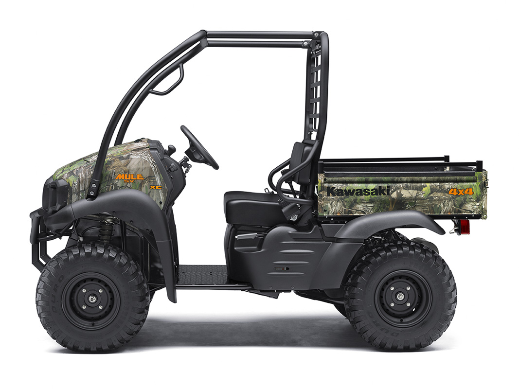 2017 Kawasaki Mule SX 4x4 XC Camo in Petersburg, West Virginia
