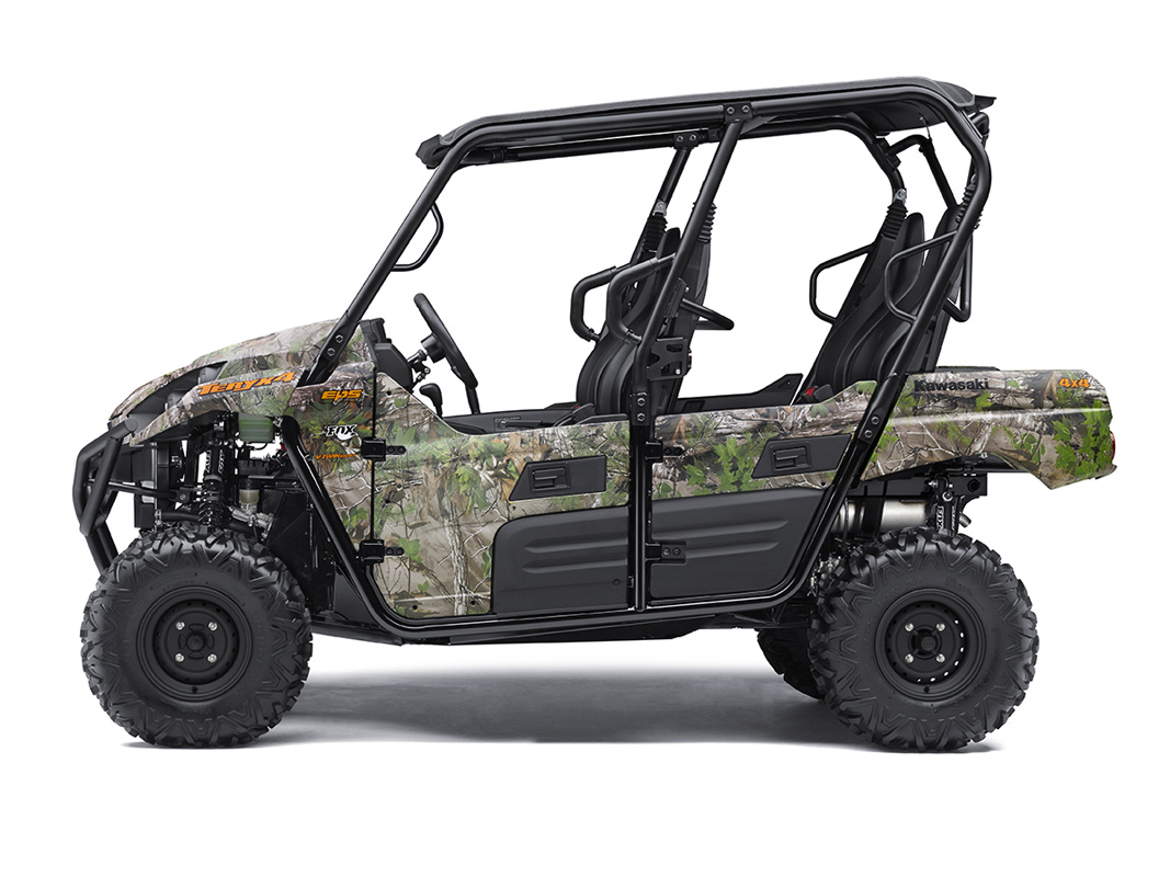 2017 Kawasaki Teryx4 Camo in Fort Pierce, Florida